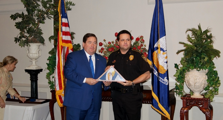 Heart of Law Enforcement Recipient - Gary Hobbs, Mansfield Police Chief