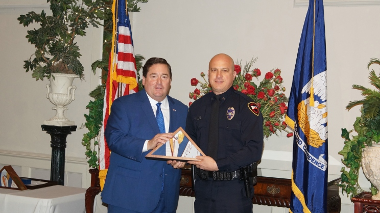Heart of Law Enforcement Award Recipient - Michael Middlebrook, Lafayette Police Department